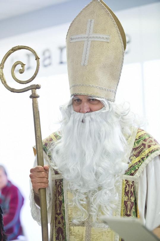 Petr Rychlý je v Ordinaci mikulášská klasika.