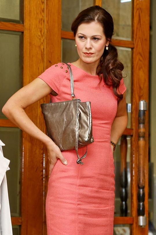 Jana Doleželová si opět zahrála v seriálu.