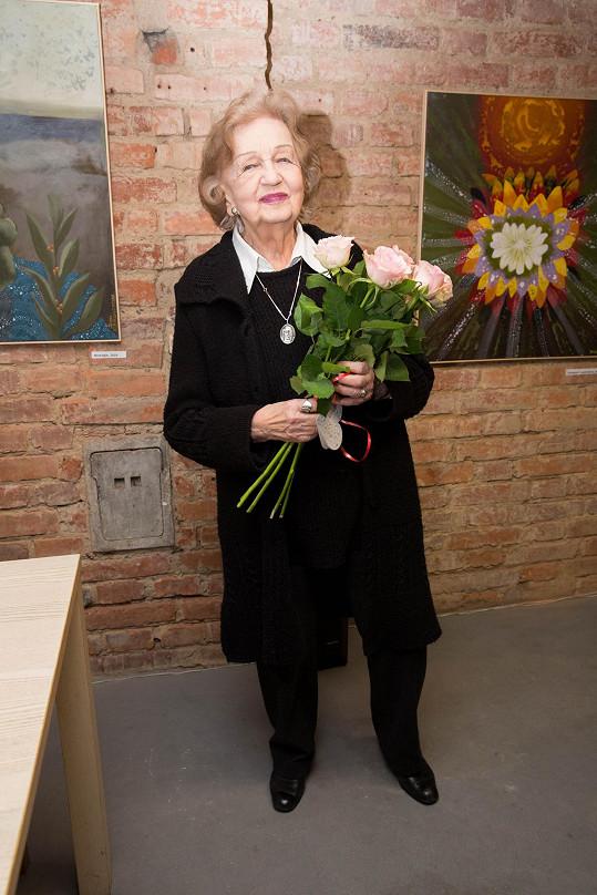 Blanka Bohdanová je v devadesáti letech stále velmi aktivní.