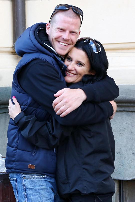 Šťastná moderátorka s partnerem Ondřejem
