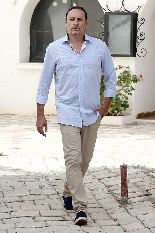 Marian Vojtko natáčel v Tunisku videoklip s partičkou 4 Tenoři.