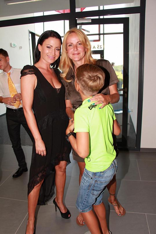 Do česko-kanadské školy v Jesenici chodí i potomek Gabriely Partyšové.