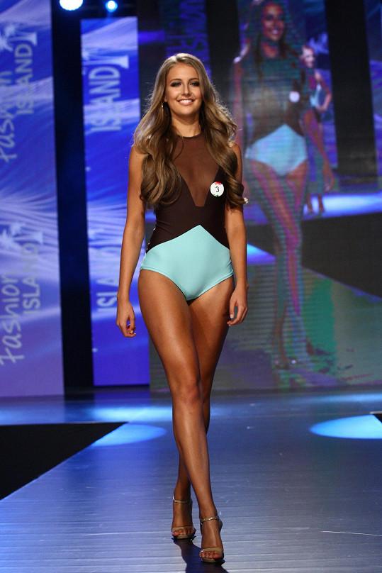 Nikola na finále Miss Face