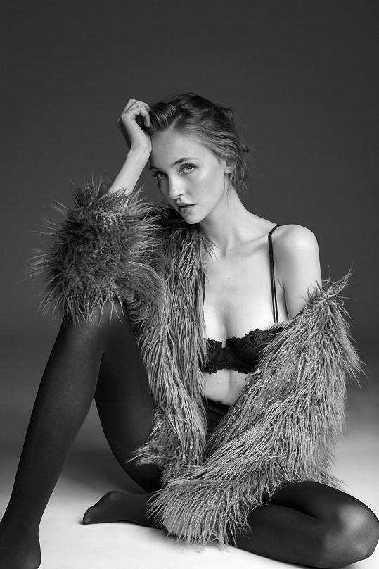 Barbora je úspěšná modelka.