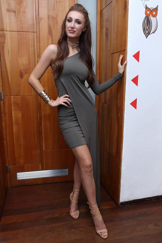 Táňa Makarenko má před finále své soutěže Miss Face.