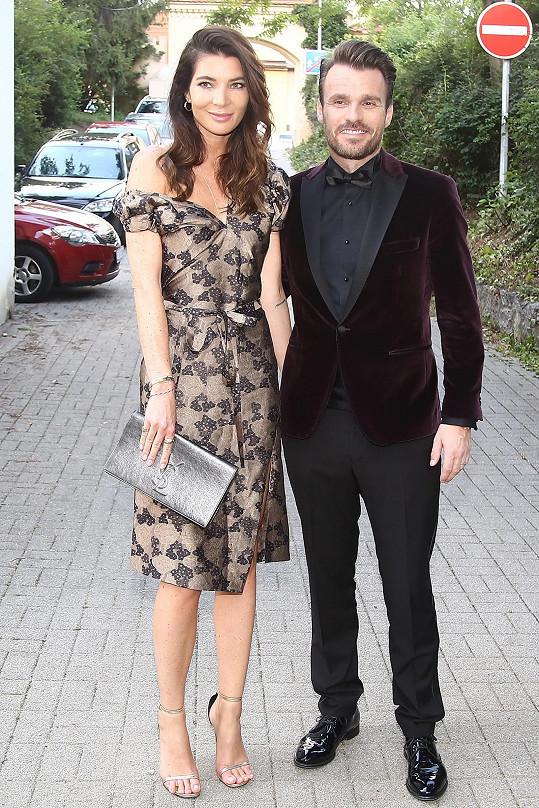 Monika Marešová s manželem Leošem