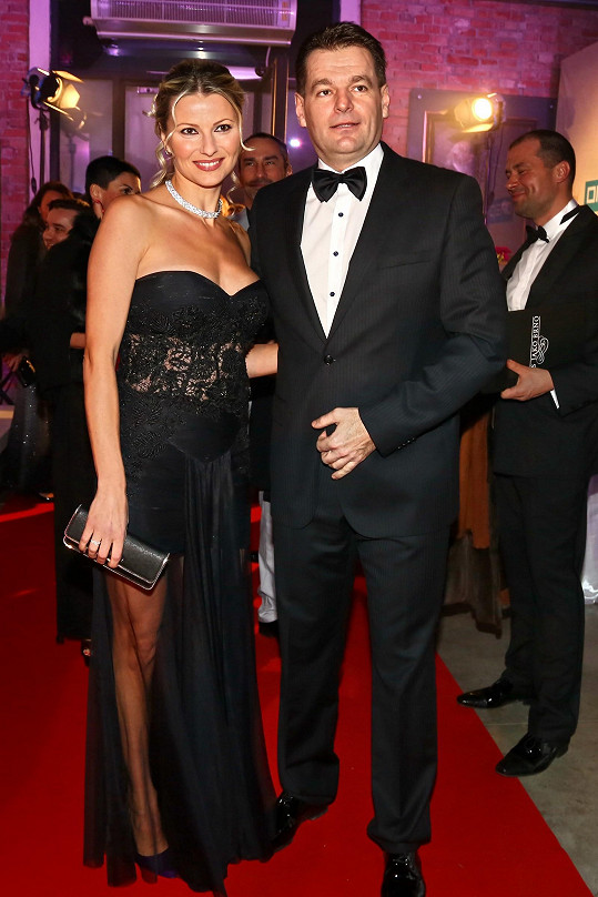 Jitka Kocurová s partnerem mnoho společenských akcí nenavštěvují, ale brněnský ples byl výjimkou.