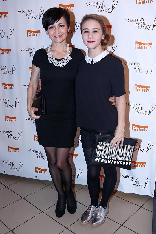 S maminkou Magdou Zimovou přišla na večírek Primy.