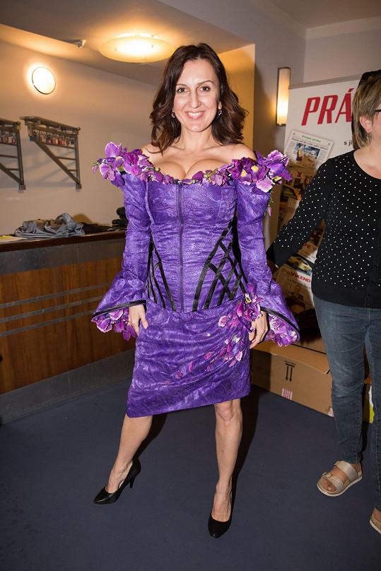 Radka podědila kostýmy po Olze Lounové.