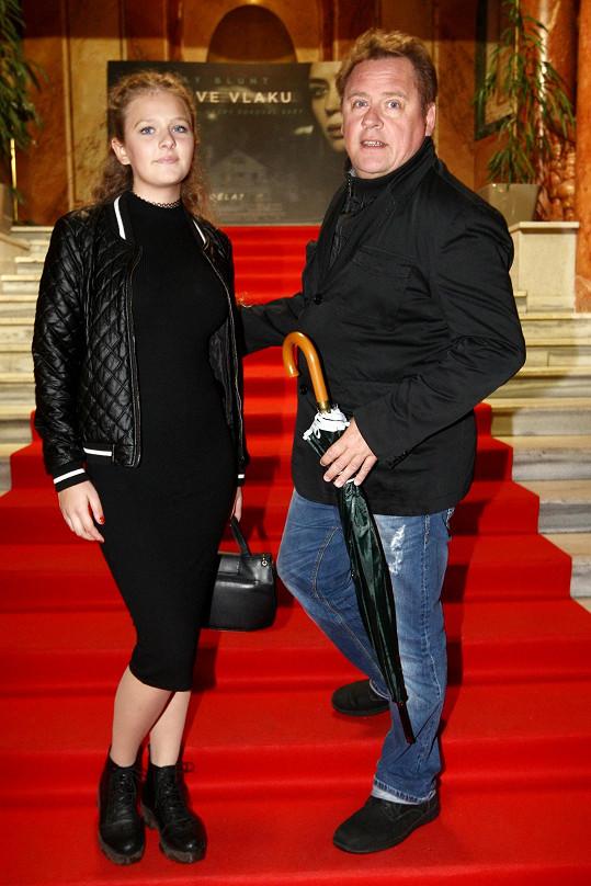 Václav Kopta s dcerou Janou