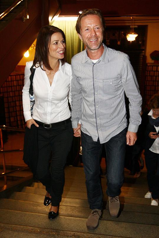 Langoš je s Adélou moc šťastný.