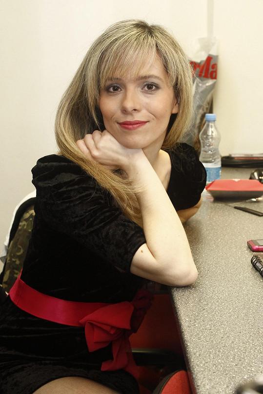 Lucie Černíková se loni vdala a porodila dceru.