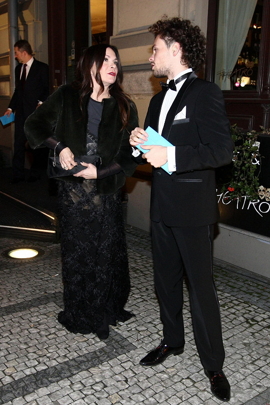 Anna K s tanečníkem Markem Hrstkou