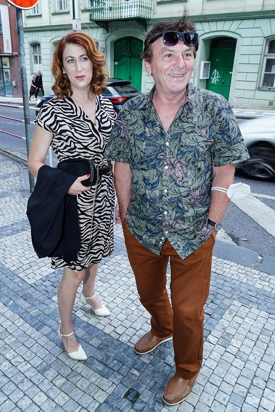 Pavel Trávníček a jeho žena Monika mají pracovní léto.