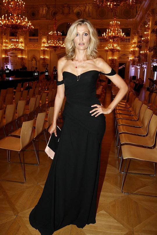 Tereza Maxová zdobila galavečer pořádaný ve Španělském sále Pražského hradu.
