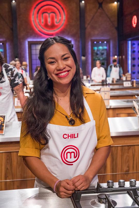 Chili mohou televizní diváci znát z kulinářské show MasterChef.