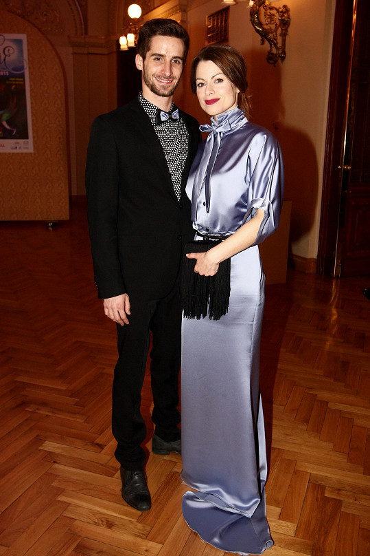Hanka s přítelem Tomášem Smičkou.
