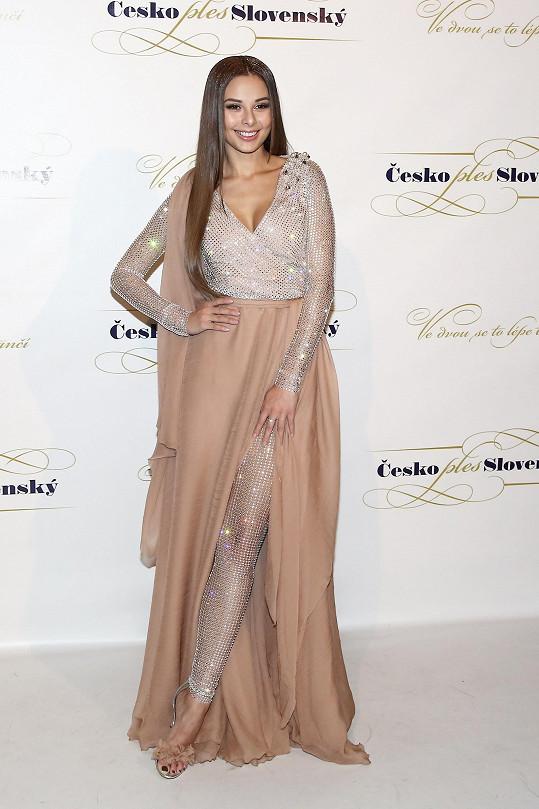 Monika Bagárová vypadala skvěle.