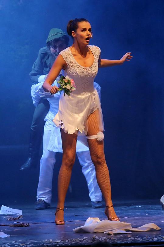 Iva má za sebou premiéru muzikálu Trhák.