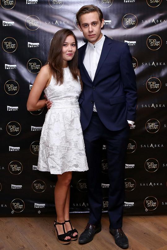 Vincent s přítelkyní Sabinou