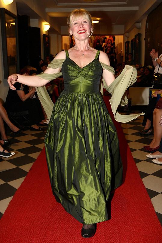 Dana Batulková si vyzkoušela profesi modelky.