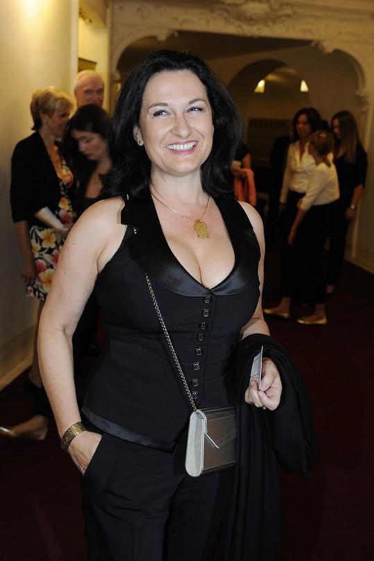 Mirka Čejková si nenechala ujít narozeninový koncert Vlastimila Harapese.