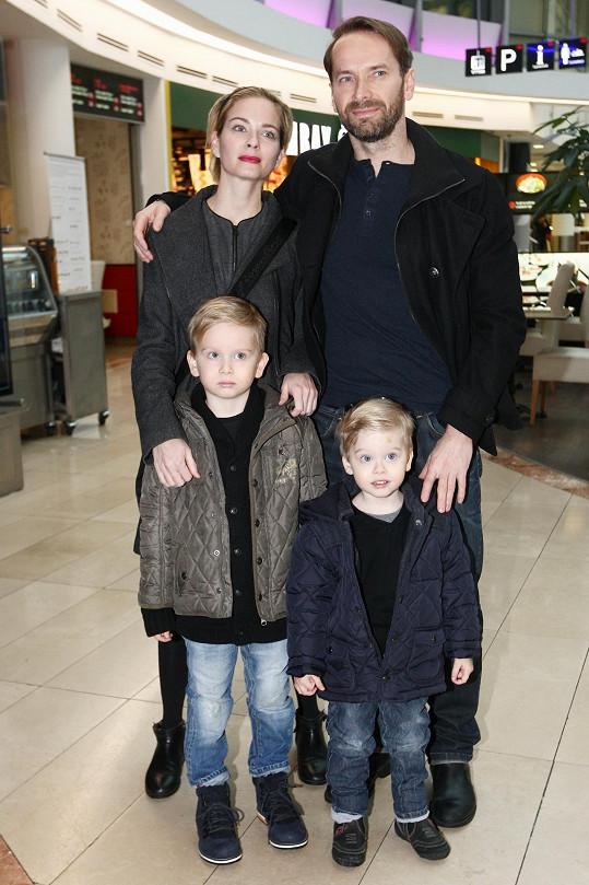 Zuzana a Jan spolu vychovávají dva syny.