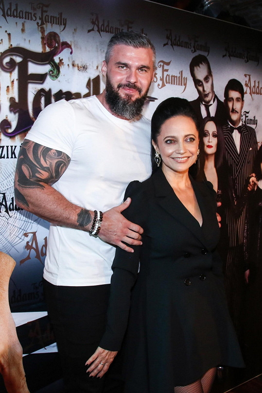 Lucie Bílá s partnerem Radkem