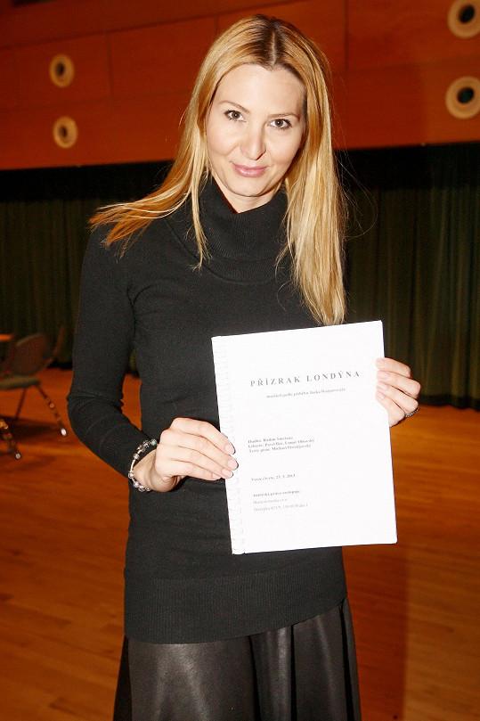 Ivana Gottová se svým scénářem