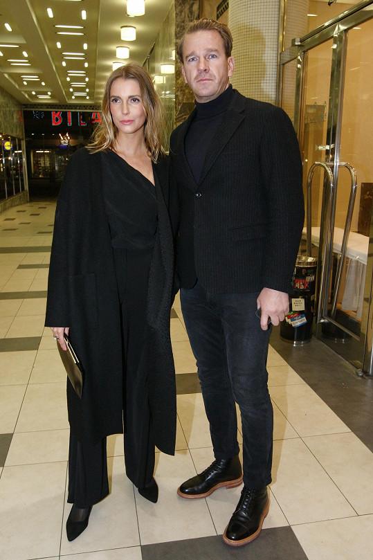 Stanislav Majer s partnerkou
