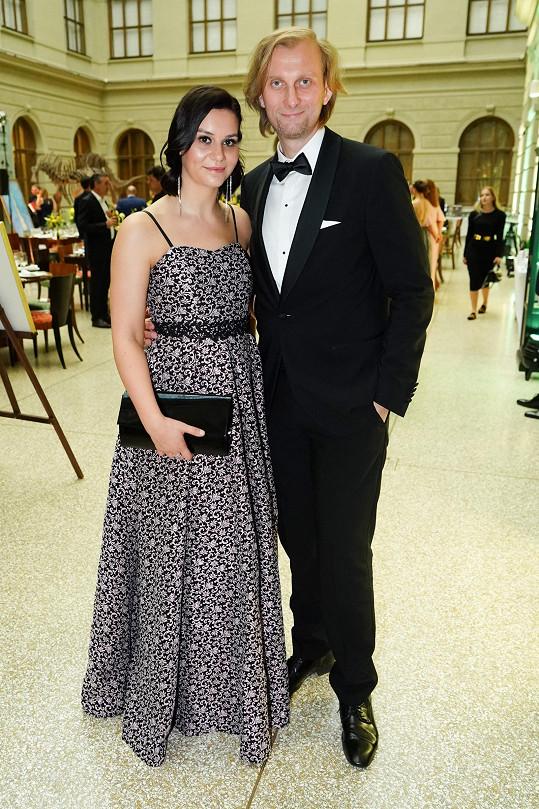 Ivo Kahánek s manželkou na charitativní akci Be Charity