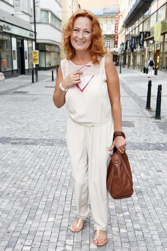 Simona Stašová je patronkou Akce cihla.