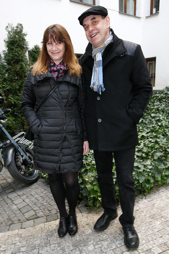 Miroslav Táborský s manželkou Kateřinou
