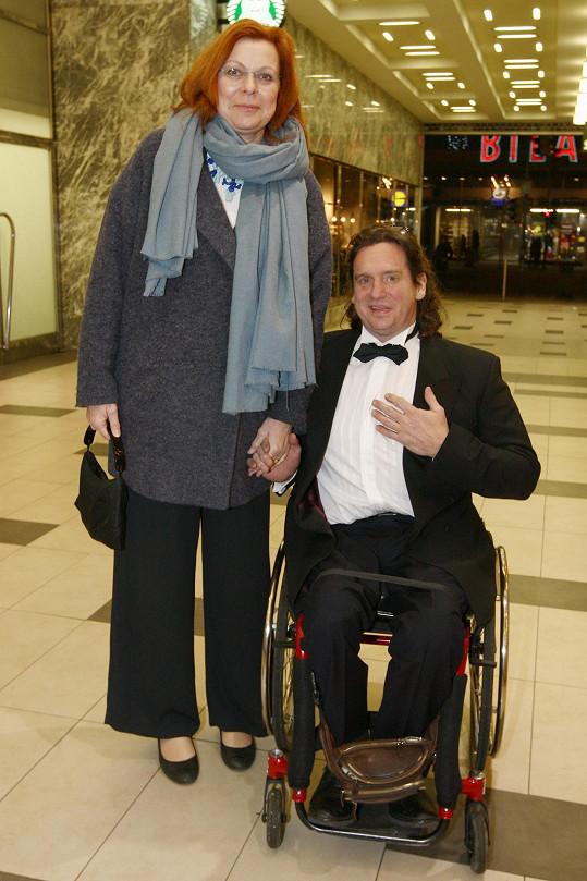 Jan Potměšil s manželkou Radkou