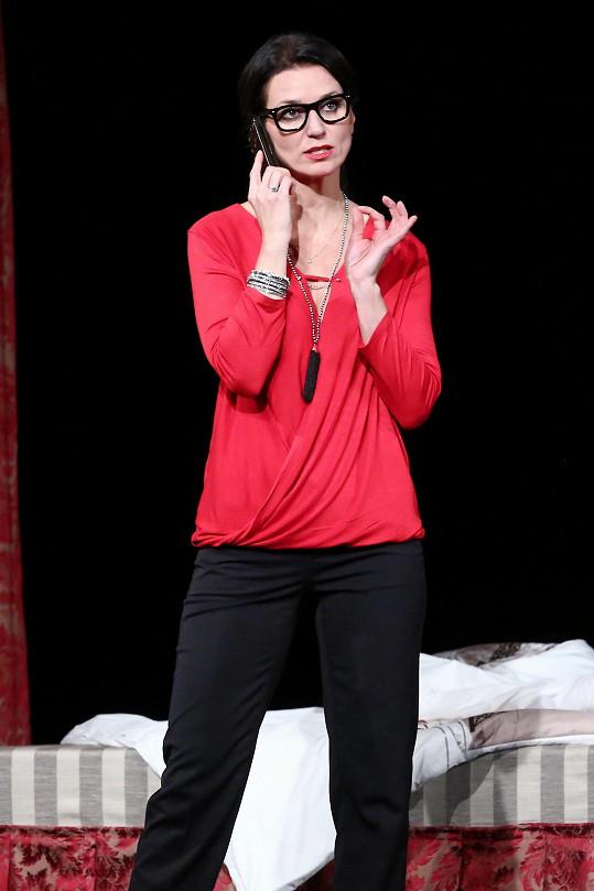 Adéla Gondíková během představení