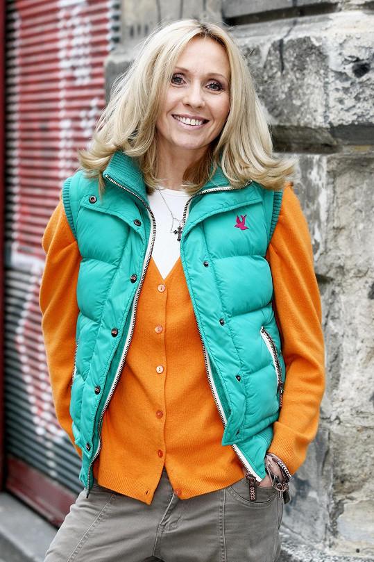 Tereza Pergnerová vypadá skvěle i po čtyřicítce.