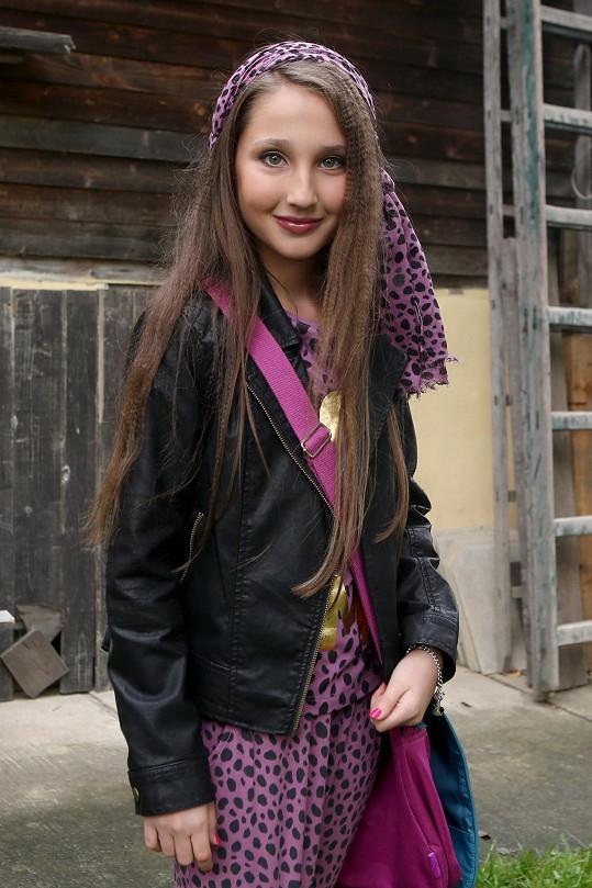 Natálie Grossová má za sebou první natáčecí den v seriálu Přístav.