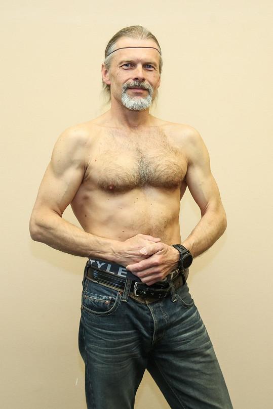 Petr Machala je i ve 47 letech ve skvělé formě.