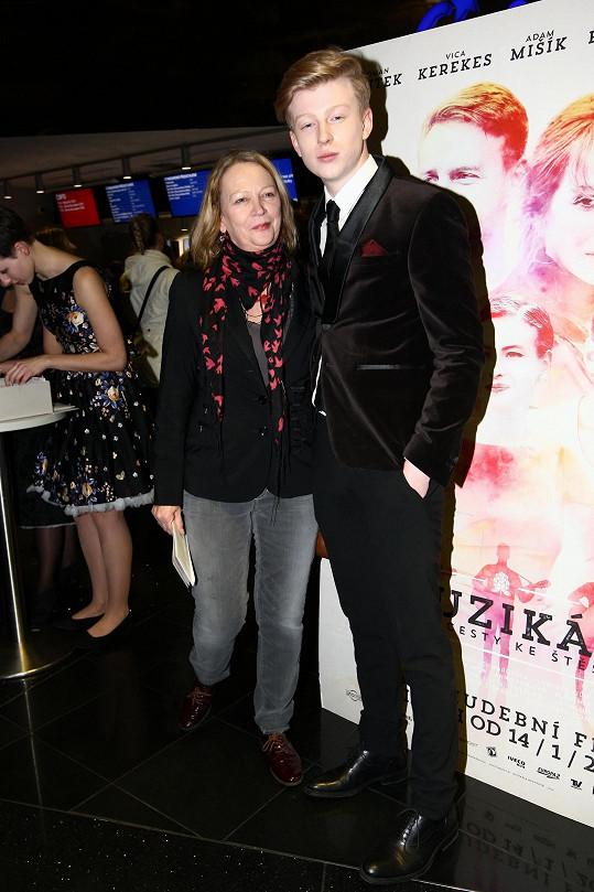 Adam Mišík s maminkou Evou