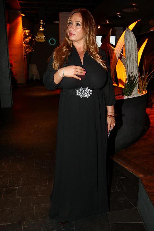 Rola Brzobohatá sledovala soutěž Elite Model Look.
