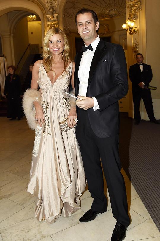 Tamara s partnerem Romanem Hajabáčem