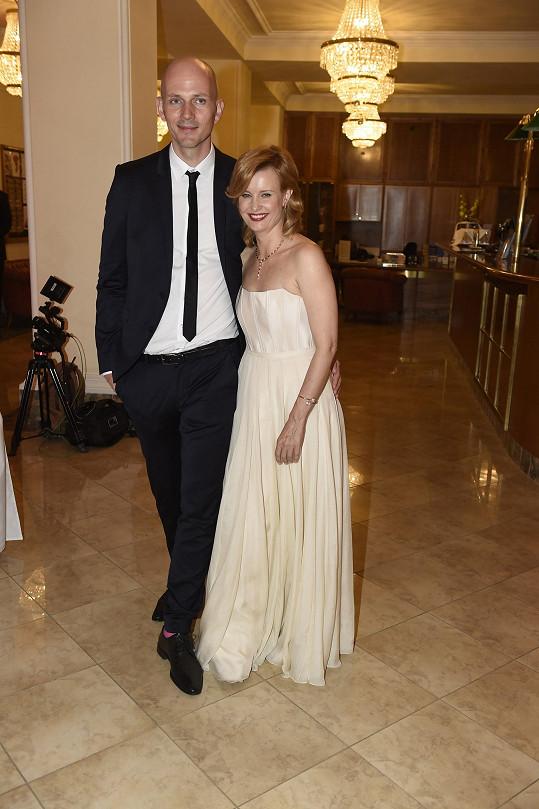 Jitka Schneiderová se svým partnerem