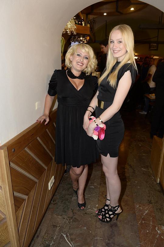 S filmovou dcerou Annou Kadeřávkovou