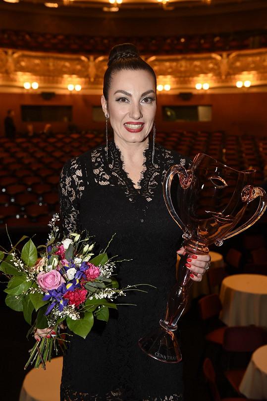 Cenu si odnesla zpěvačka Katarína Hasprová.