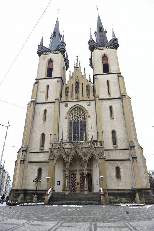 Kostel svatého Antonína v pražských Holešovicích