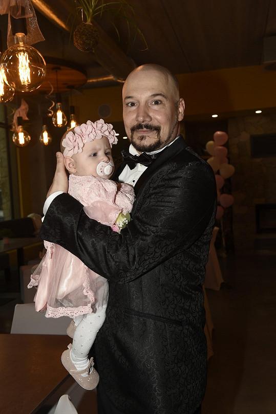 Bohuš Matuš s dcerkou Natálkou