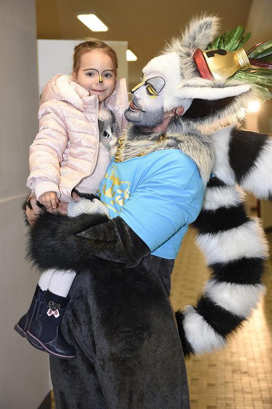 Vašek s dcerou Terezkou