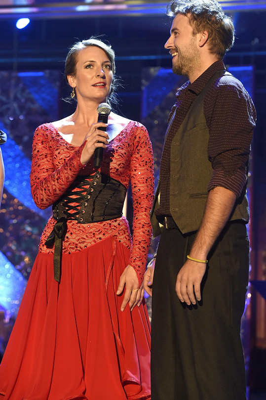 Na pódiu rozdávali úsměvy.