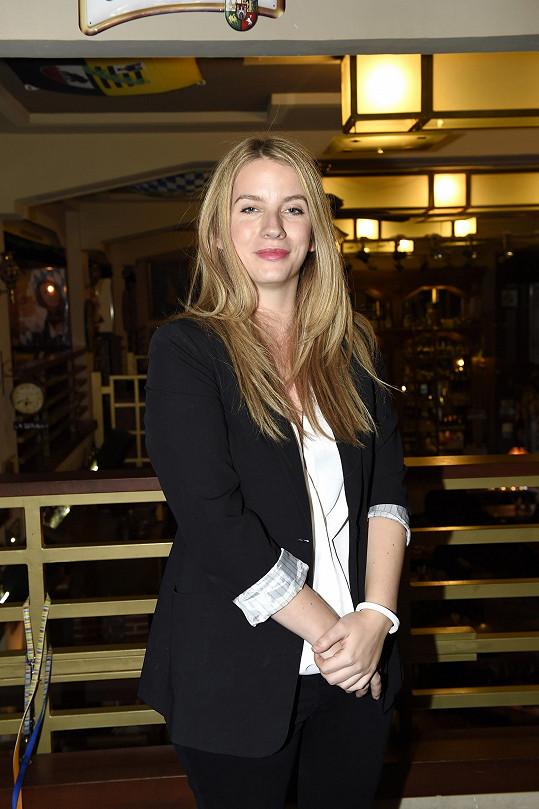 Anna Fixová je velmi hezká žena.