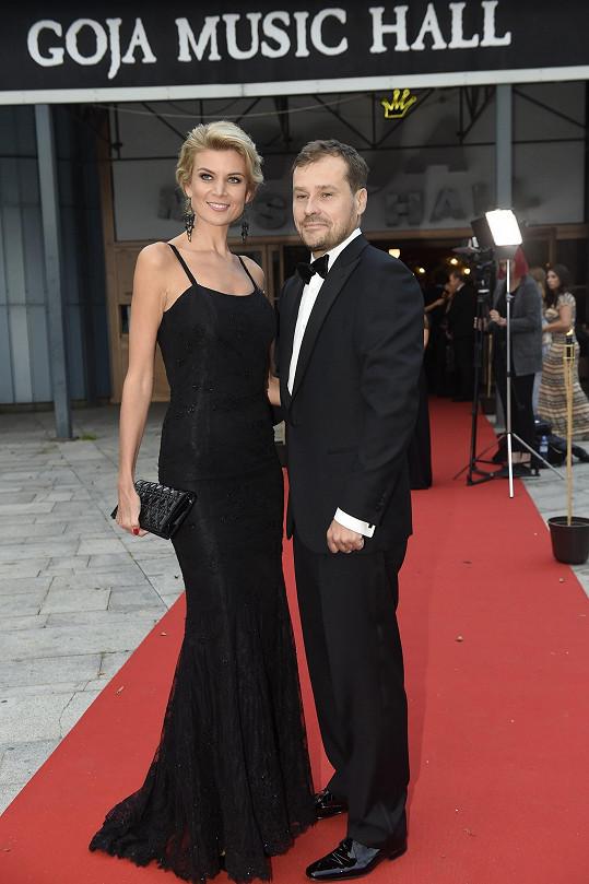 Iveta Vítová po dlouhé době ve společnosti s manželem